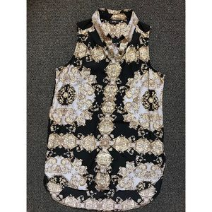 HOST PICK Best in Tops! Printed Tunic Blouse